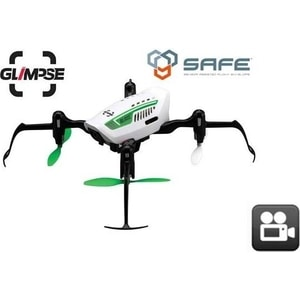 Радиоуправляемый квадрокоптер Blade Glimpse FPV 2.4G 5 8g clover 3 blade leaf gain antenna rightangle sma female tx for audio fpv