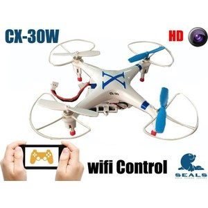 Радиоуправляемый квадрокоптер Cheerson CX-30W FPV iOS cheerson cx 33c cx33c cx 33s cx33s cx 33w cx33w rc tricopter gear