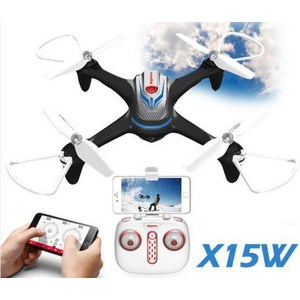 Радиоуправляемый квадрокоптер Syma X15W FPV RTF (480p) 2.4G diy rtf racer 190 fpv drone f3 flight controller at9s fs i6 transmitter camera goggle glass rc multicopter helicopter f18893 q