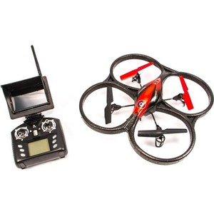 Радиоуправляемый квадрокоптер WL Toys V606G Mini UFO Quadcopter FPV 5.8G lt 190 indoor fpv aerial photography small quadcopter frame 190 racing machine racks 3k carbon fiber frame for fpv racing drone