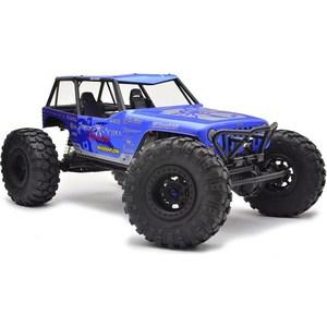Радиоуправляемый краулер Axial Jeep Wrangler Wraith-Poison Spyder Rock Racer 4WD RTR масштаб 1:10 2.4G радиоуправляемый краулер losi night crawler 4wd rtr масштаб 1 10 2 4g