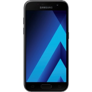Смартфон Samsung Galaxy A7 (2017) 32Gb Black nillkin protective matte plastic back case for samsung galaxy alpha g850f black
