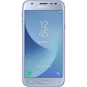 Смартфон Samsung Galaxy J3 (2017) 16Gb Blue накладка samsung для samsung galaxy j3 2017 черный