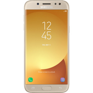 Смартфон Samsung Galaxy J5 (2017) 16Gb Gold смартфон samsung galaxy j3 2017 16gb blue