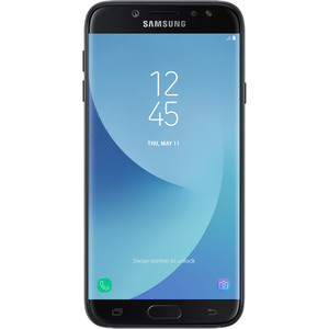 Смартфон Samsung Galaxy J7 (2017) 16Gb Black смартфон samsung galaxy j3 2017 16gb blue