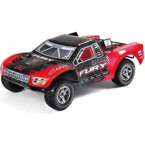 Радиоуправляемый шорт-корс трак Arrma Fury BLX 2WD RTR масштаб 1:10 2.4G - AR102661 радиоуправляемый трагги ecx ruckus 2wd rtr масштаб 1 10 2 4g