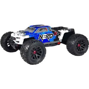 Радиоуправляемый монстр Arrma Nero 6S BLX с блокировками 4WD RTR масштаб 1:8 2.4G видеосамоучитель nero 8 cd