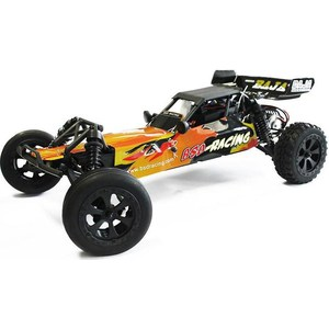 Радиоуправляемый багги BSD Racing Brushed Waterproof Baja 2WD RTR масштаб 1:10 2.4G 047 1 10 1 10 pvc painted body shell for 1 10 rc hobby racing car 2pcs lot free shipping