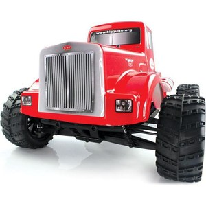 Радиоуправляемый монстр Himoto Road Warrior Brushless 4WD RTR масштаб 1:10 2.4G associated rc18b2 brushless 4wd 2 4ghz