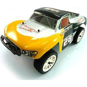 Радиоуправляемый шорт-корс трак Himoto SCT-16 4WD RTR масштаб 1:16 2.4G бензиновый шорт корс losi team5ive t sct 4wd rtr масштаб 1 5 2 4g