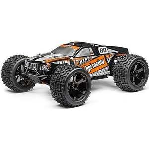Радиоуправляемый монстр HPI Racing Bullet ST 3.0 4WD RTR масштаб 1:10 2.4G - HPI-110660 metal wheel rim no tire for rc 1 10 on road racing car crawler rc parts hsp axial wltoys himoto hpi traxxas redcat 102039 122039