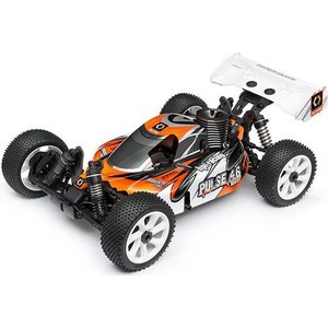 Радиоуправляемый багги HPI Racing Pulse Nitro Star 4.6 4WD RTR масштаб 1:8 2.4G new hsp baja 1 8th scale nitro power off road buggy rtr camper 94860 with 2 4ghz radio control rc car remote control toys