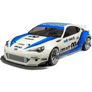 Радиоуправляемая машина для дрифта HPI Racing RS4 Sport 3 Drift Subaru BRZ 4WD RTR масштаб 1:10 2.4G new 4pcs drift wheel rim and hard tires s for 1 10 traxxas tamiya kyosho hsp hpi 4wd rc on road drift car