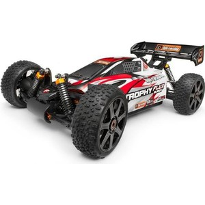 Радиоуправляемый багги HPI Racing Trophy Buggy Flux 4WD RTR масштаб 1:8 2.4G mxfans green upgrade 12mm dia t10122 rc1 8 buggy wheel hex mount kit 12pcs in one set