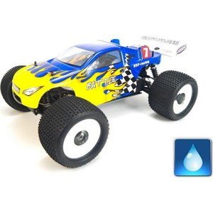 Радиоуправляемый трагги HSP Battle 4WD RTR масштаб 1:8 2.4G hsp high brightness white red blue yellow light 12 led system for 1 10 1 8 r c car
