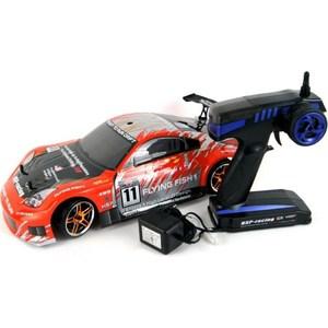Радиоуправляемая машина для дрифта HSP Flying Fish 1 4WD RTR масштаб 1:10 2.4G радиоуправляемая машина для дрифта hpi racing rs4 sport 3 drift subaru brz 4wd rtr масштаб 1 10 2 4g