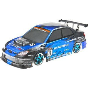 Радиоуправляемая машина для дрифта HSP Flying Fish 1 Pro 4WD RTR масштаб 1:10 2.4G rc car hsp flying fish 1 10 brushless on road rally racing 4wd rtr item no 94103top2