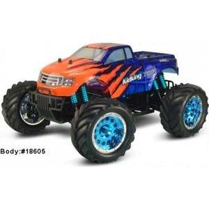 Радиоуправляемый монстр HSP KidKing TOP 4WD RTR масштаб 1:16 2.4G hsp flying fish rc drift car 1 10 scale on road 4wd brushless top version high speed 94103top 12372