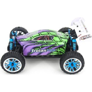 Радиоуправляемый багги HSP Troian TOP 4WD RTR масштаб 1:16 2.4G hsp flying fish rc drift car 1 10 scale on road 4wd brushless top version high speed 94103top 12372