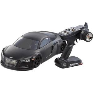 Модель шоссейного автомобиля Kyosho Fazer VE Audi R8 Matte Black 4WD RTR масаштаб 1:10 2.4G welly модель автомобиля audi r8 v10 цвет красный