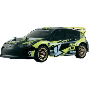 Радиоуправляемая машина для дрифта Kyosho Fazer VE-X 2007 Subaru Impreza 4WD RTR масштаб 1:10 2.4G fxcnc aluminum motorcycle steering stabilizer damper mounting bracket support kit for yamaha fz1 fazer 2006 2015 2007 2008 09