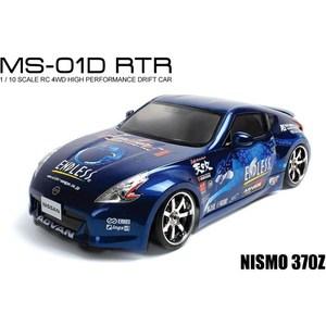Радиоуправляемая машина для дрифта MST MS-01D NISMO 370Z 4WD RTR масштаб 1:10 2.4G радиоуправляемая машина для дрифта hpi racing rs4 sport 3 drift subaru brz 4wd rtr масштаб 1 10 2 4g