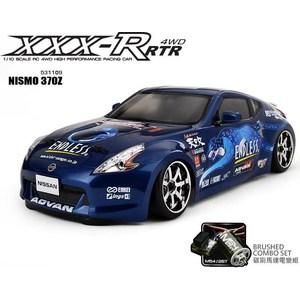 Модель шоссейного автомобиля MST XXX-R NISMO 370Z 4WD RTR масштаб 1:10 2.4G mst xxx d 4wd rtr 1 10 subaru brz blue 2 4ghz без акк и з у mst 531213b