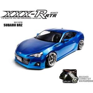 Модель шоссейного автомобиля MST XXX-R SUBARU BRZ Blue 4WD RTR масштаб 1:10 2.4G mst xxx d 4wd rtr 1 10 subaru brz blue 2 4ghz без акк и з у mst 531213b