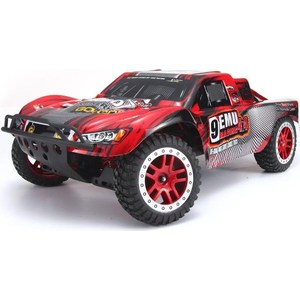 Радиоуправляемый шорт-корс трак Remo Hobby Truck 9emu 4WD RTR масштаб 1:8 2.4G - 8025 wltoys a969 rc racing car 4wd 2 4ghz 4ch drift 1 28 high speed 30km h alloy chassis gift toy radio control vehicle remo car
