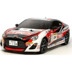 Модель шоссейного автомобиля Tamiya XBS Gazoo Racing TRD 86 4WD RTR масштаб 1:10 2.4G simulation white phoenix toy lifelike beautiful long tail bird gift about 50cm