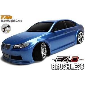 Радиоуправляемая машина для дрифта Team Magic E4D BMW 320 Spec. 4WD RTR масштаб 1:10 2.4G радиоуправляемая машина для дрифта hpi racing rs4 sport 3 drift subaru brz 4wd rtr масштаб 1 10 2 4g