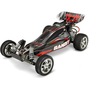 Радиоуправляемый багги TRAXXAS Bandit 2WD TQ Fast Charger RTR масштаб 1:10 2.4G