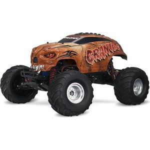 Радиоуправляемый монстр TRAXXAS Craniac 2WD RTR масштаб 1:10 2.4G + NEW Fast Charger 2017 new kids boys girls usb charger led light shoes high top luminous sneakers casual lace up shoes unisex sports for children
