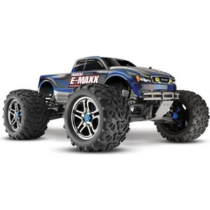 Радиоуправляемый монстр TRAXXAS E-Maxx Brushless Edition TQi 4WD RTR масштаб 1:10 2.4G 2pcs traxxas original 1 5 x maxx tires wheels tire tyre for 1 5 traxxas x maxx rc monster truck model 7772