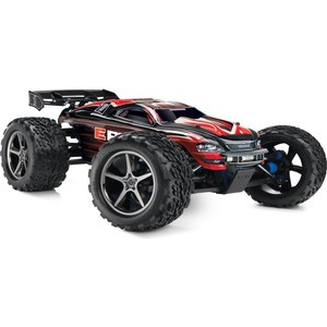 Радиоуправляемый внедорожник TRAXXAS E-Revo (NEW Fast Charger) 4WD RTR масштаб 1:10 2.4G new 4pcs drift wheel rim and hard tires s for 1 10 traxxas tamiya kyosho hsp hpi 4wd rc on road drift car