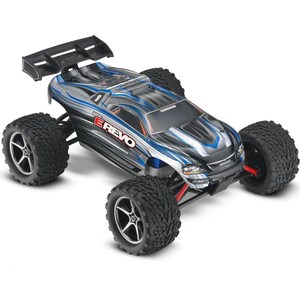 Радиоуправляемый внедорожник TRAXXAS E-Revo 4WD RTR масштаб 1:16 2.4G hot racing traxxas e revo summit aluminum transmission gearbox case
