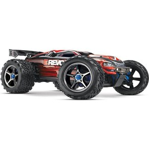 Радиоуправляемый монстр TRAXXAS E-Revo Brushless MXL 4WD 1:10 RTR с системой стабилизации (with telemetry) + Fast Charger skyrc toro x8s x8st brushless motor for 1 8 rc car off road buggy 2250kv 2350kv hpi hobao kyosho traxxas