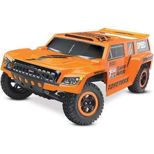 Радиоуправляемый шорт-корс TRAXXAS Slash Dakar Edition (NEW Fast Charger) 2WD RTR масштаб 1:10 2.4G