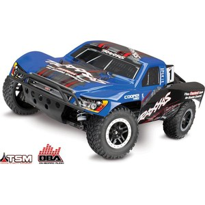 Радиоуправляемый шорт-корс TRAXXAS Slash VXL OBA (NEW Fast Charger) 4WD RTR масштаб 1:10 2.4G радиоуправляемый шорт корс трак himoto hammer 4wd rtr масштаб 1 10 2 4g hml