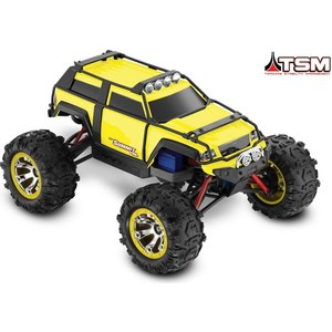 Радиоуправляемый монстр TRAXXAS Summit 4WD VXL TQi RTR масштаб 1:16 2.4G hot racing traxxas e revo summit aluminum transmission gearbox case