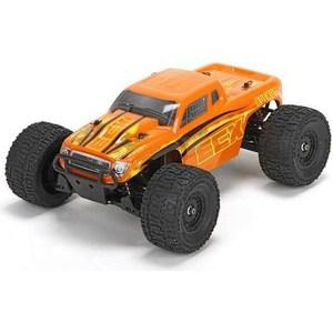 Радиоуправляемый монстр ECX Ruckus 4WD RTR (желтый/оранжевый) масштаб 1:18 2.4G игрушка ecx torment red orange ecx01001t2
