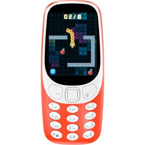 Мобильный телефон Nokia 3310 DS Red nokia 3310 ta 1030 синий смартфон