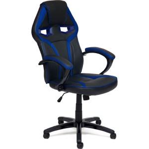 Геймерское кресло TetChair JetCar, черно-синий, Black-Navy компьютерное геймерское кресло tetchair driver