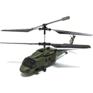 Радиоуправляемый вертолет Syma Black Hawk UH-60 Gyro 3CH ИК-управление радиоуправляемый вертолет wl toys v388 under with basket ик управление