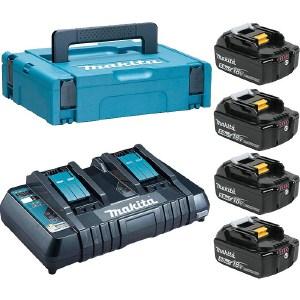 Набор аккумуляторов и зарядное устройство Makita 198312-4 wella 9 7 краска д волос illumina color 60мл