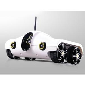 Радиоуправляемый вездеход Brookstone Rover Wi-Fi с передачей изображения масштаб 1:16 2.4G 140f1142 devireg smart интеллектуальный с wi fi бежевый 16 а