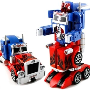 Радиоуправляемый автобот Feng Yuan Optimus Prime 27Mhz 2018 news mu 3d metal puzzle tf optimus prime g1 megatron model ym l055 c diy 3d laser cut assemble jigsaw toys for audit