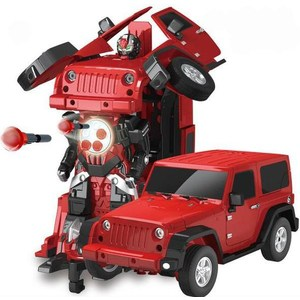 Радиоуправляемый робот трансформер MZ Model Jeep Rubicon 1:14 ohs aoshima 01155 1 24 countach 5000 scale assembly car model building kits
