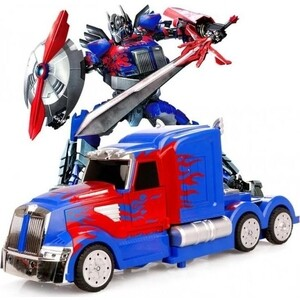 Радиоуправляемый трансформер MZ Model Optimus Prime 1:14/ MZ/ 2335P rid dark optimus prime nemesis prime car robot classic toys for boys action figure 12cm with box d0087