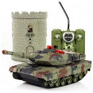 Радиоуправляемый танковый бой Huan Qi HQ550A масштаб 1:24 RTR 40MHz кукла dong huan джоли